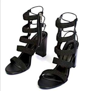 Free People Ella Heel in Black